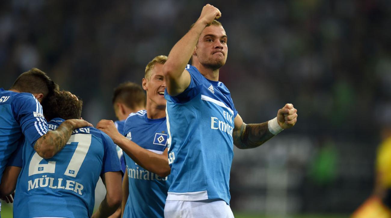 Hamburg beat Borussia Monchengladbach 3-0 in Bundesliga