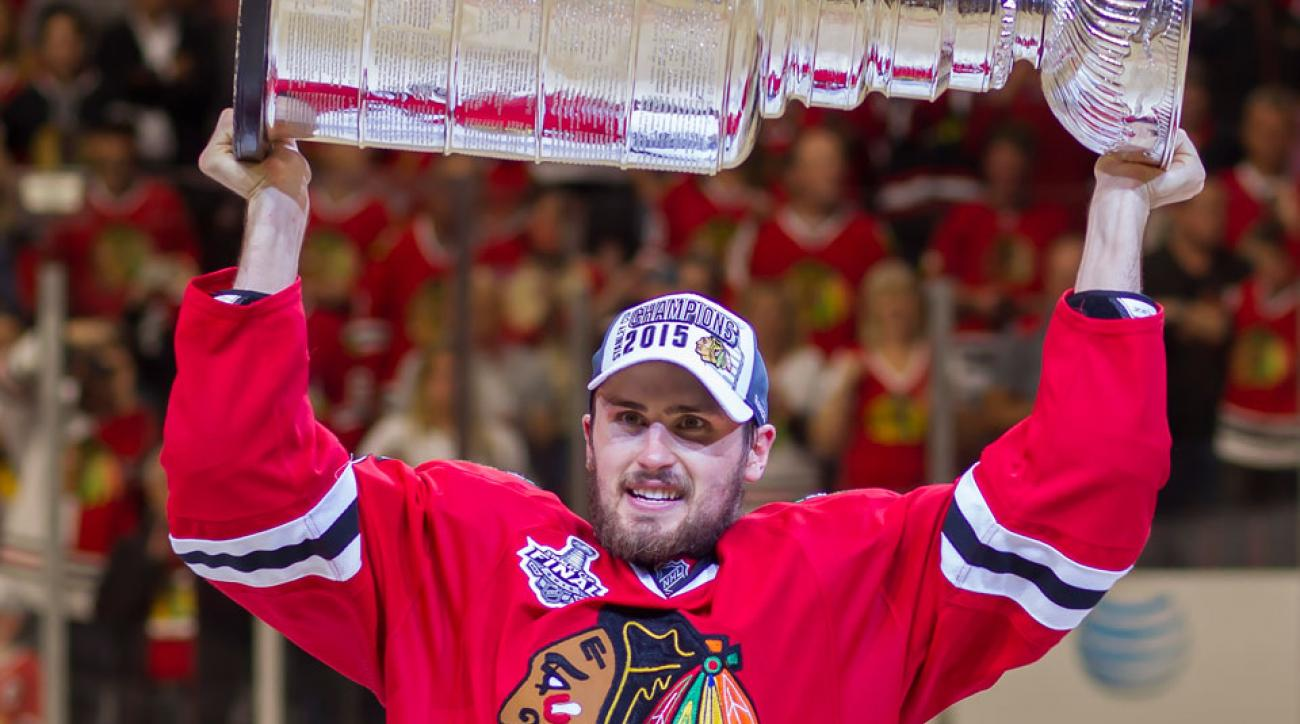 marcus kruger chicago blackhawks contract