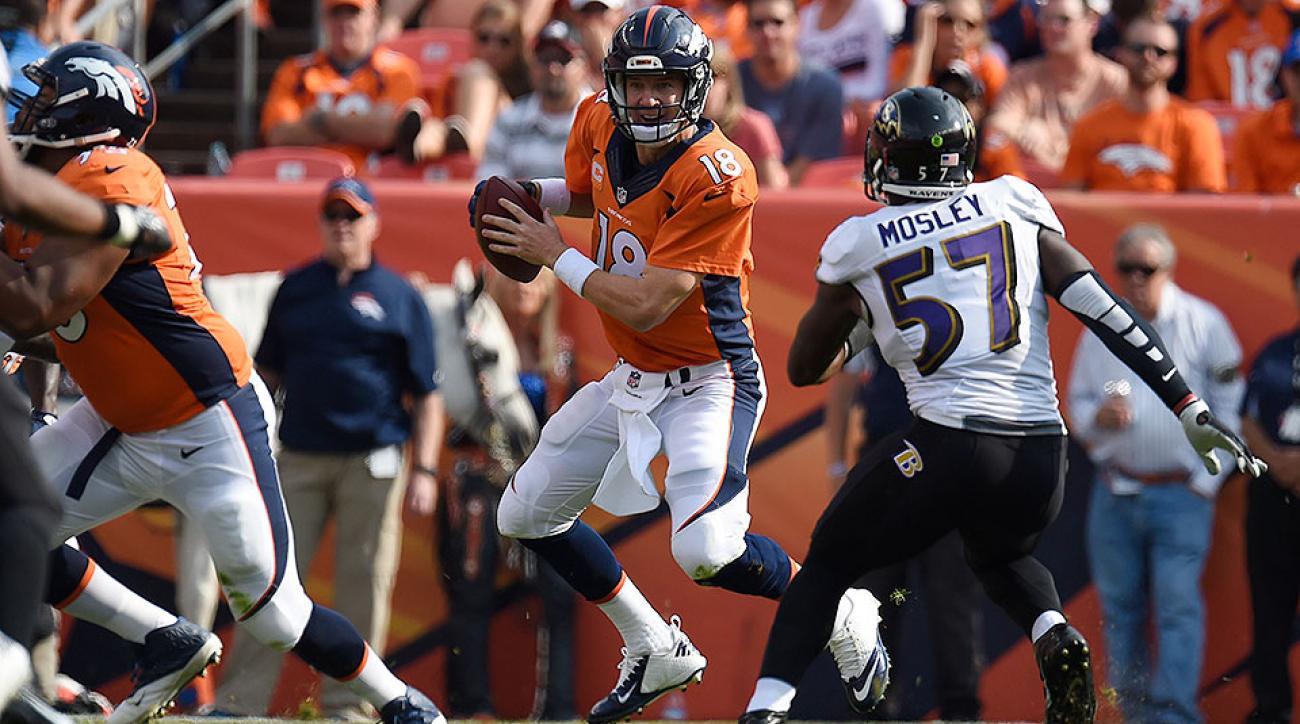 NFL Week 1: Peyton Manning struggles, but Broncos defeat Ravens 19–13