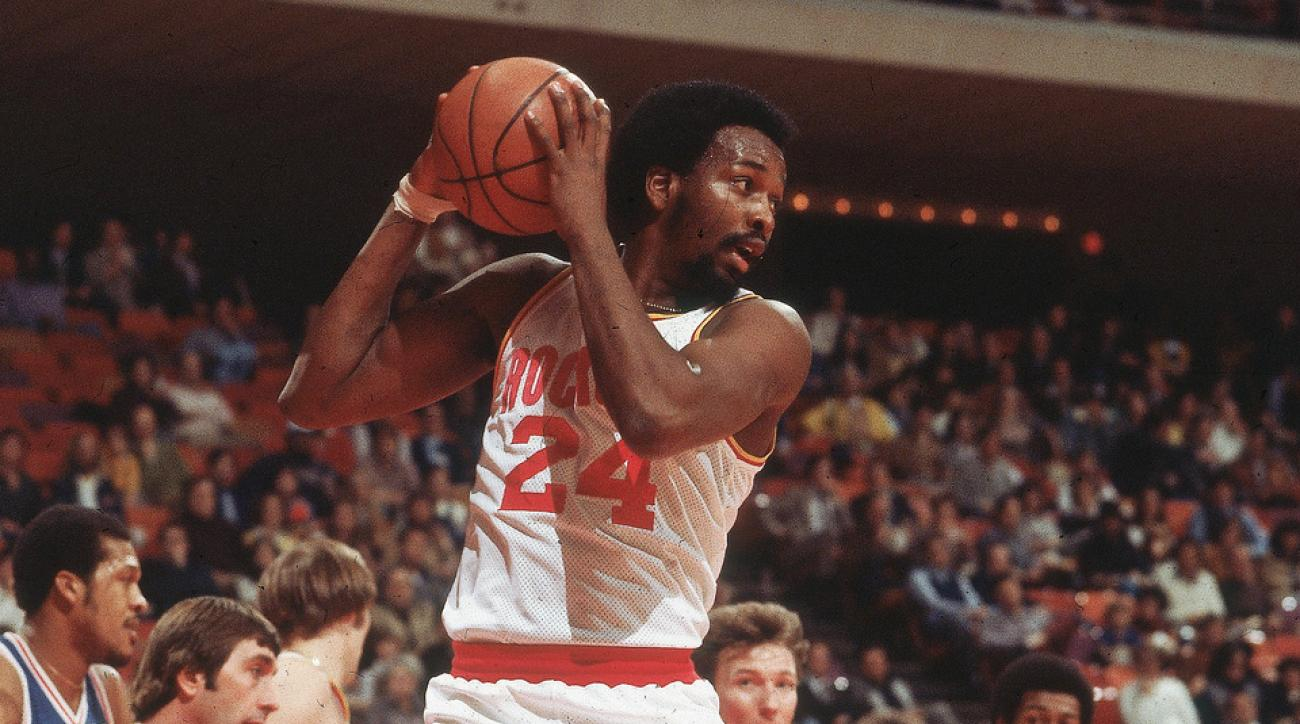 SI Vault Honoring Moses Malone Game s best rebounder bounds into