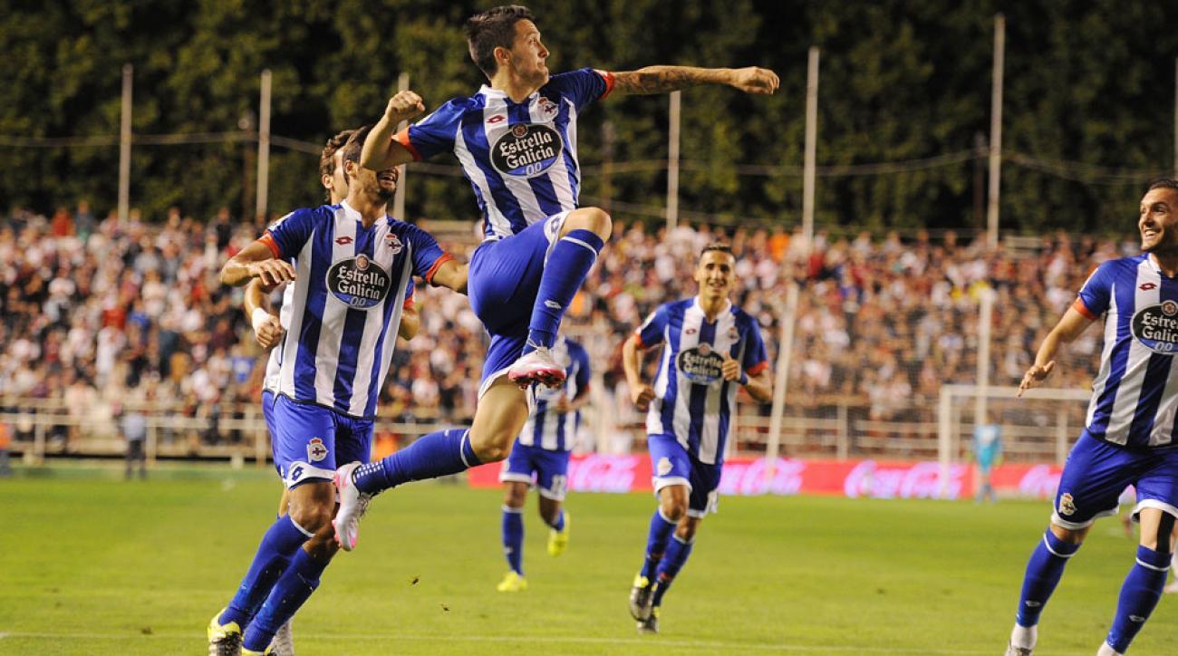 Deportivo La Coruna beats Rayo Vallecano in La Liga