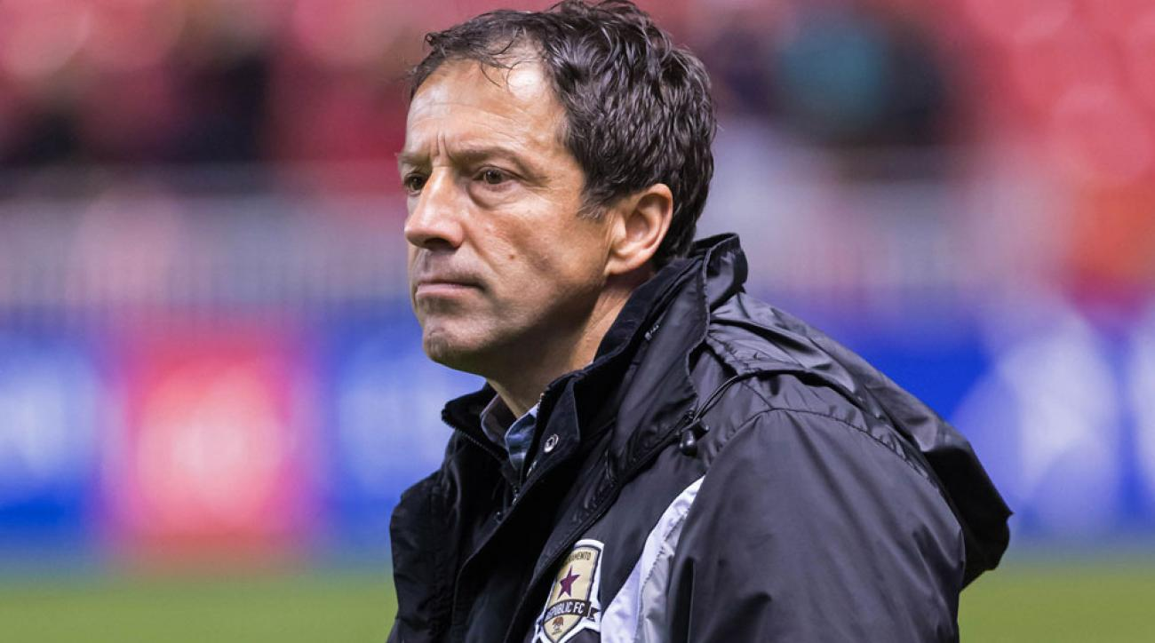Former Sacramento Republic head coach Preki