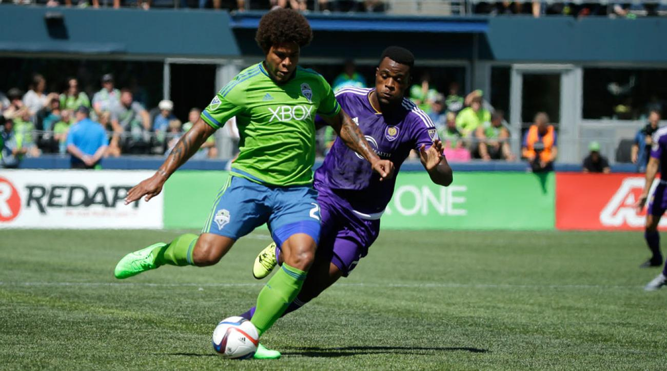Seattle Sounders defender Roman Torres will miss the rest of the season