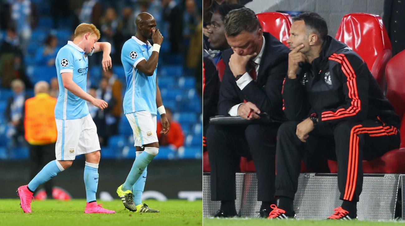 Manchester City, Manchester United both fall in the Champions League