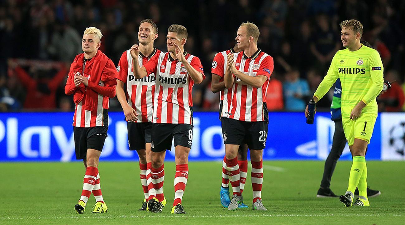 Manchester United PSV Champions League