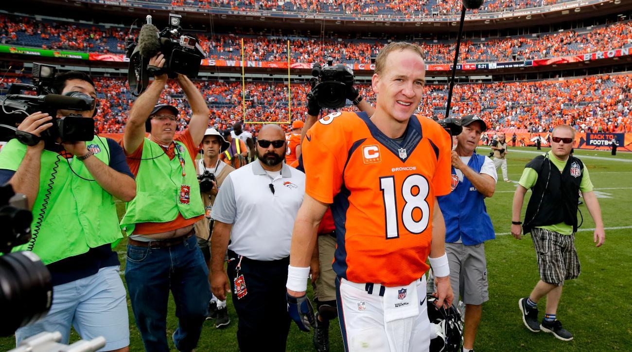 peyton manning media injury report denver broncos