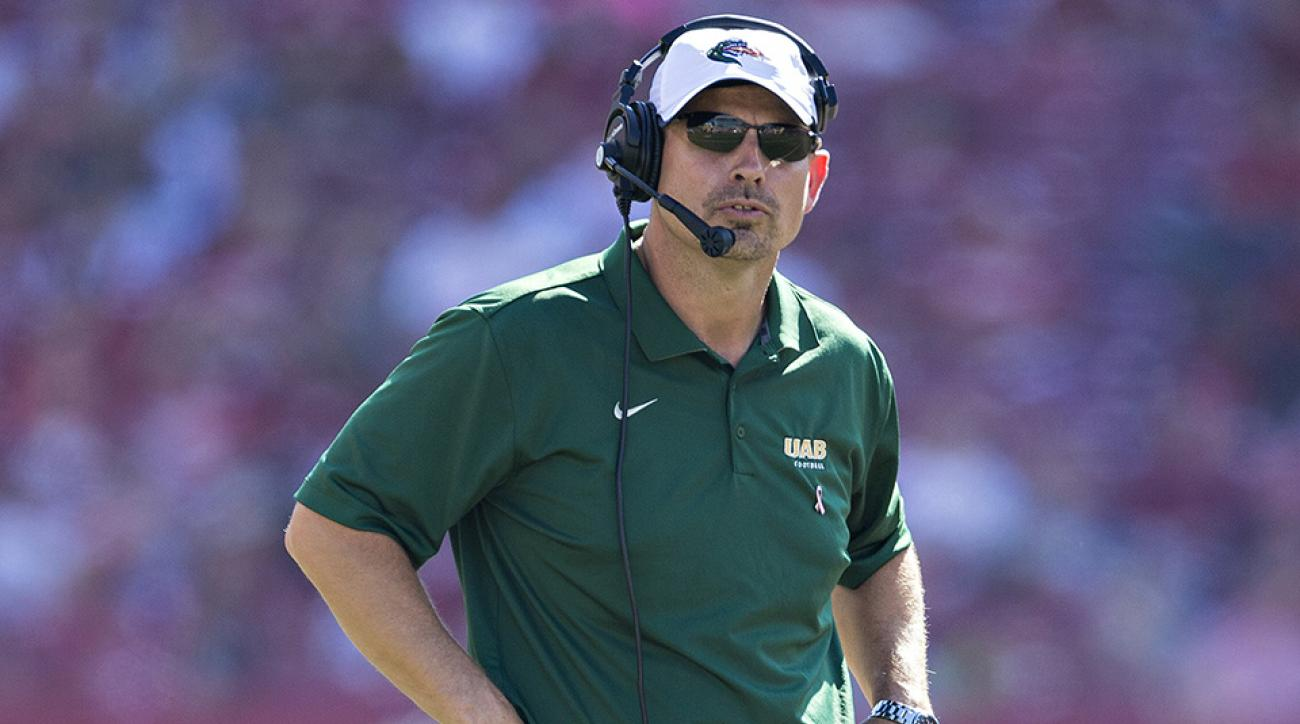 uab blazers coach bill clark contract extension