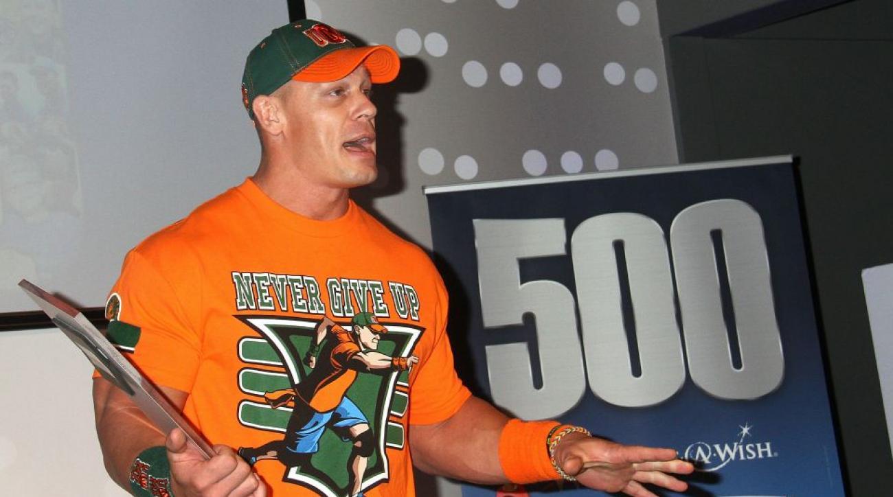 WWE's John Cena and Sting greet cancer survivor after Raw