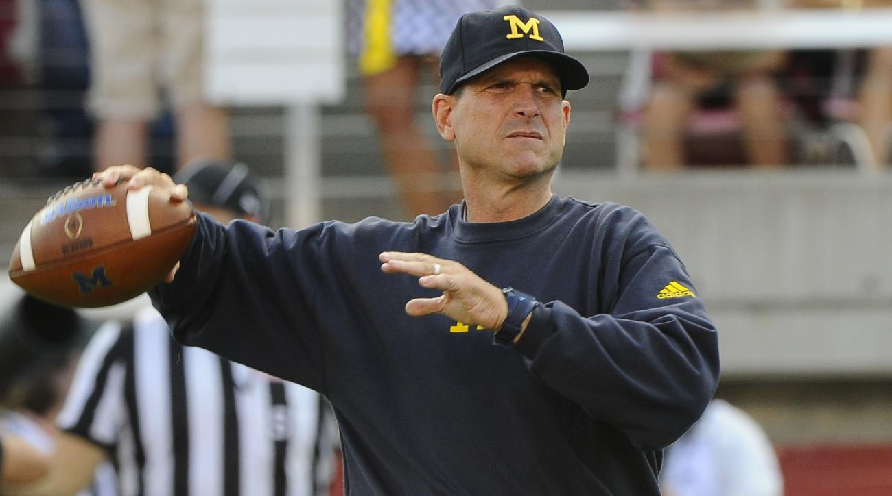 jim harbaugh michigan notre dame rivalry series resuming