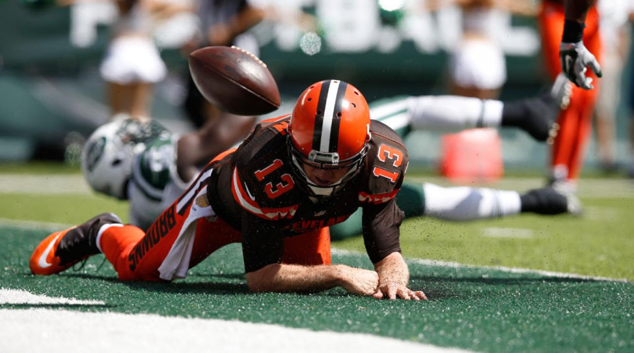 josh mccown concussion cleveland browns injury johnny manziel