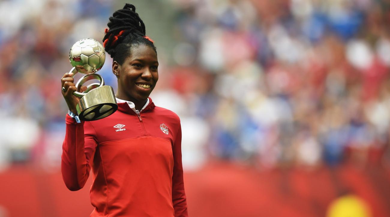 Canada women's national team's Kadeisha Buchanan
