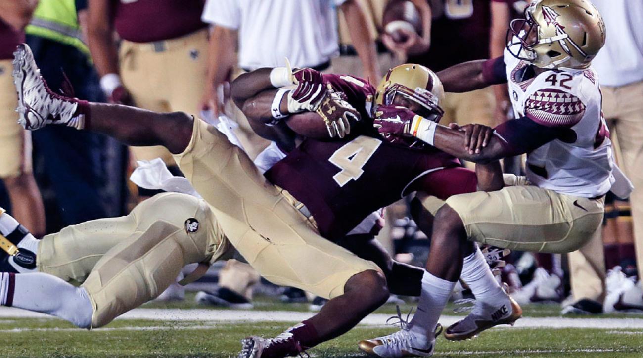 darius wade knee injury boston college florida state quarterback