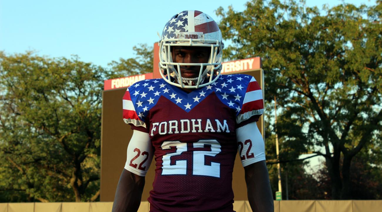 fordham rams american flag uniforms