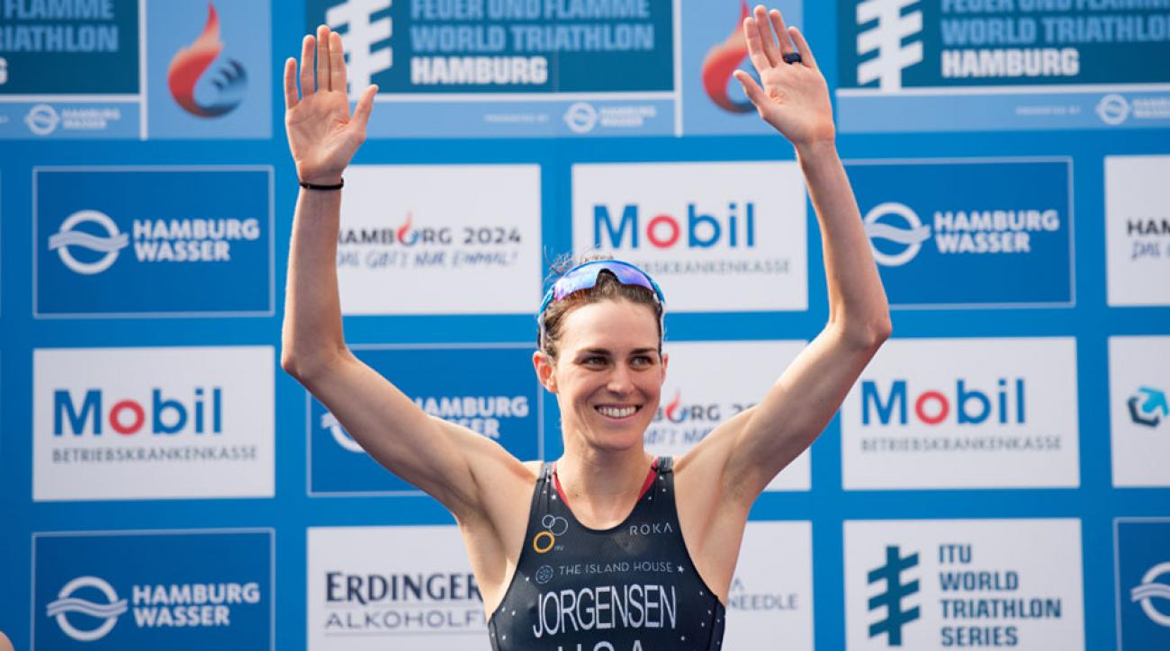 gwen jorgensen itu world championships chicago undefeated