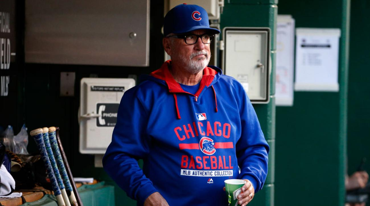 joe maddon chicago cubs st louis cardinals anthony rizzo hbp
