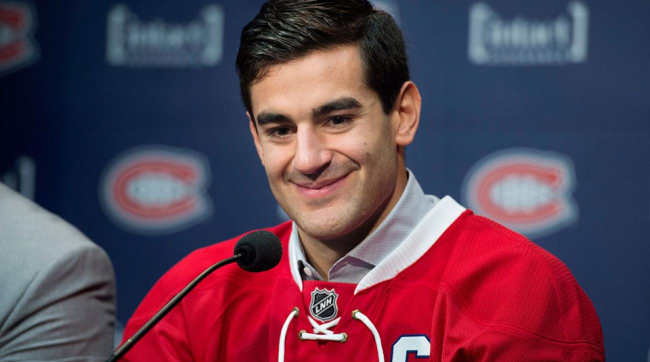 max pacioretty montreal canadiens hockey captain