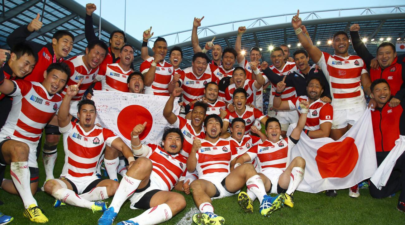 japan south africa rugby world cup upset