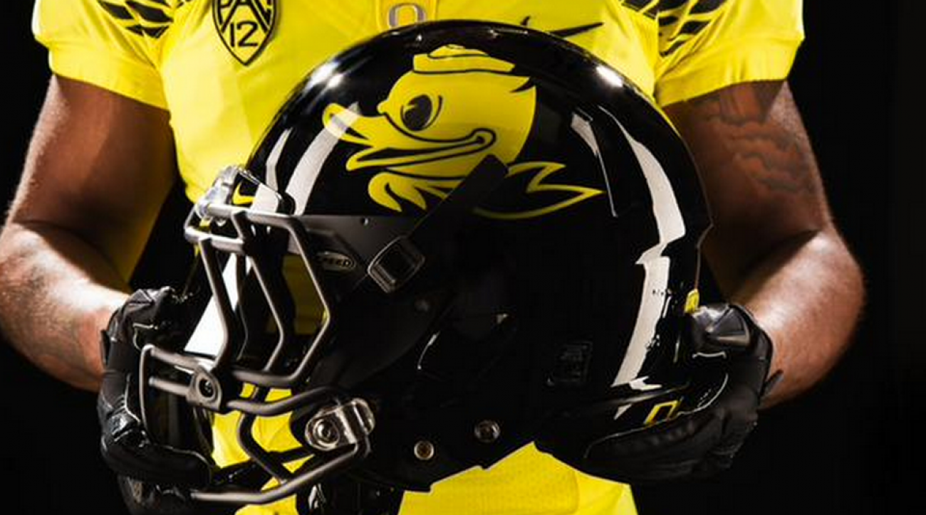 Oregon Ducks Football Uniforms Georgia State