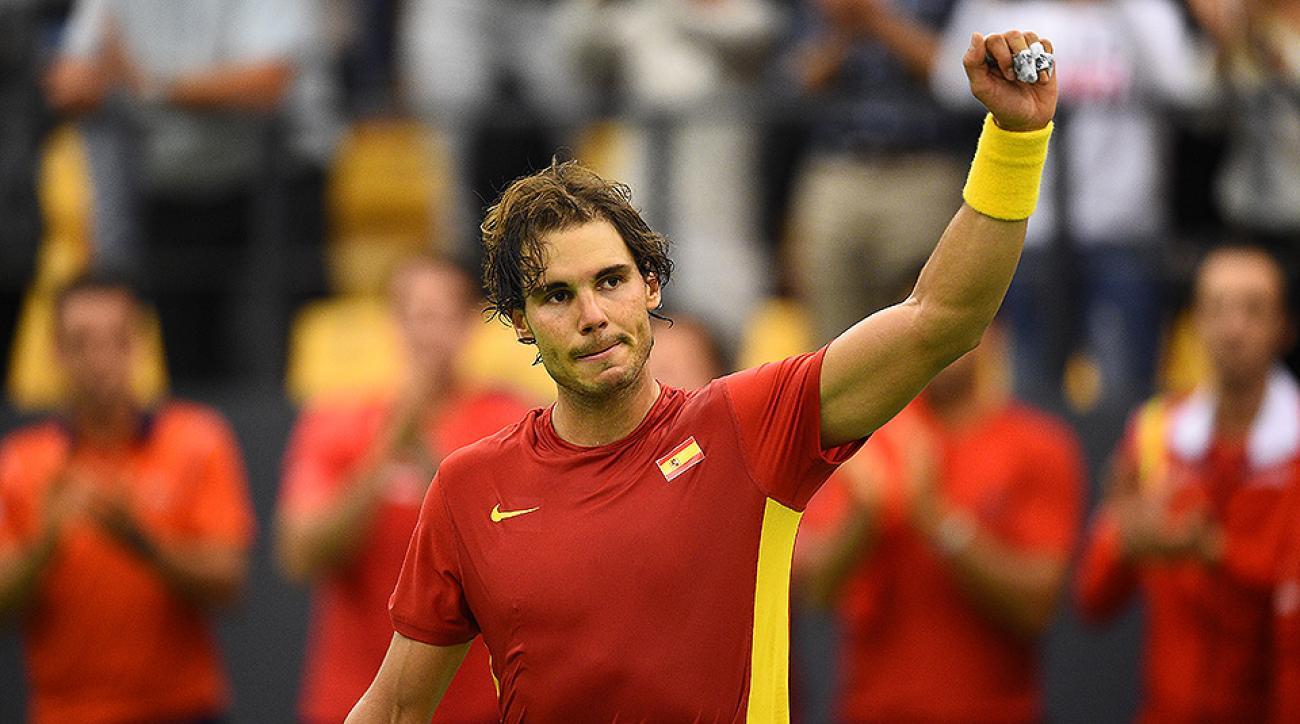 Rafel Nadal Davis Cup 2015