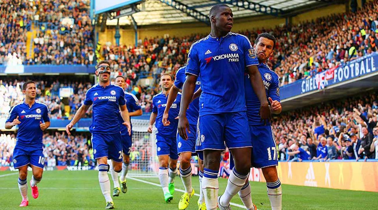 Kurt Zouma Chelsea goal