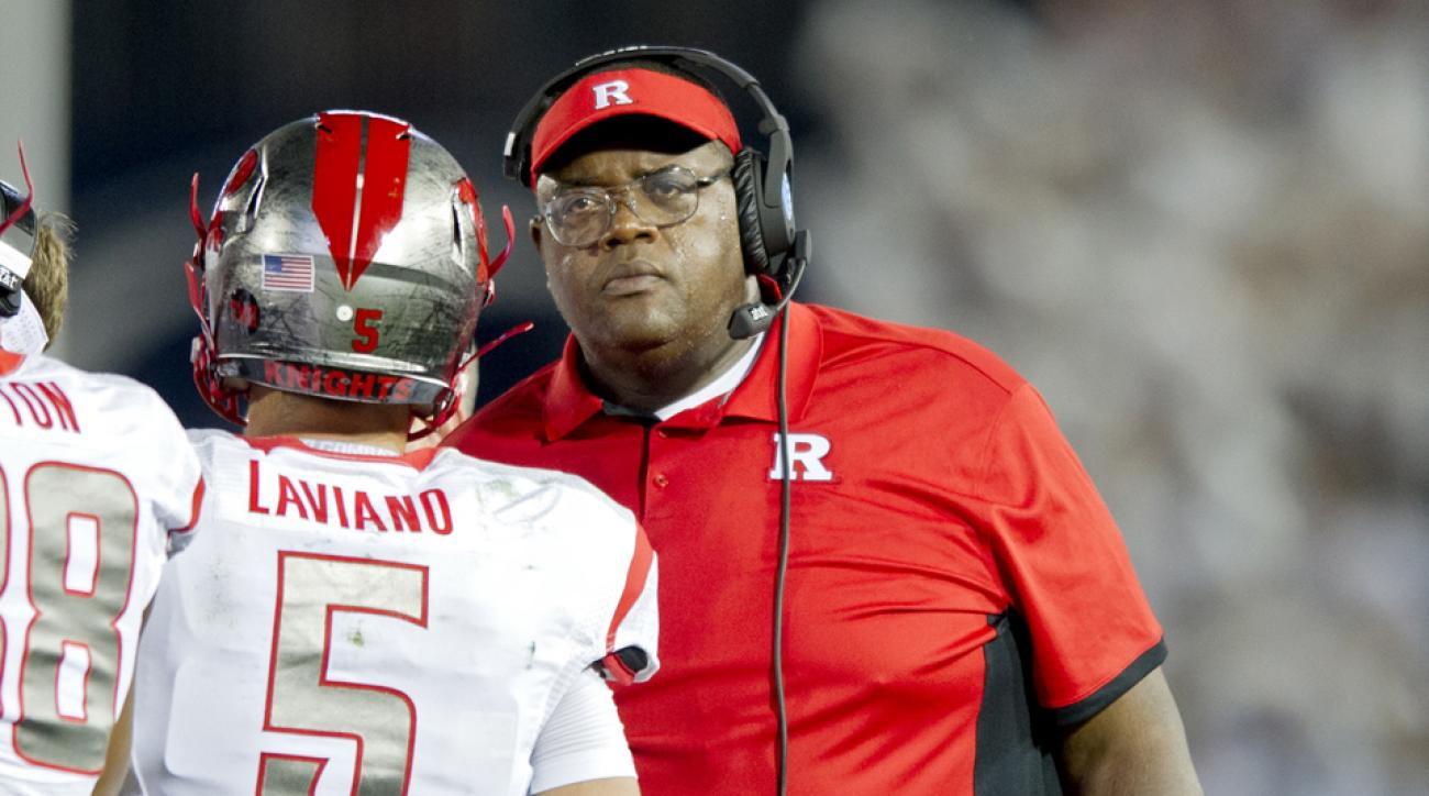 rutgers interim coach norries wilson kyle flood press conference video