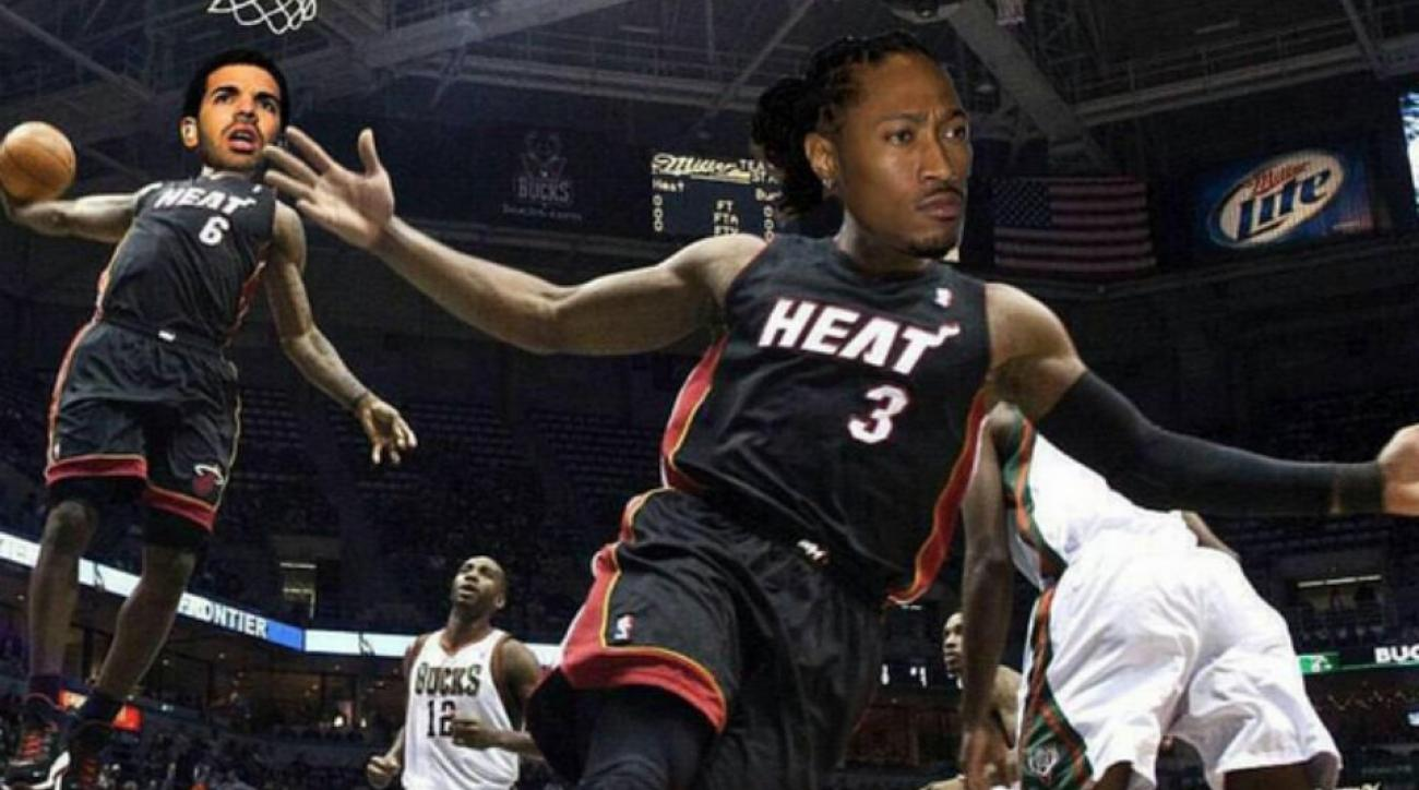 LeBron James, Dwyane Wade, compare themselves to Drake, Future