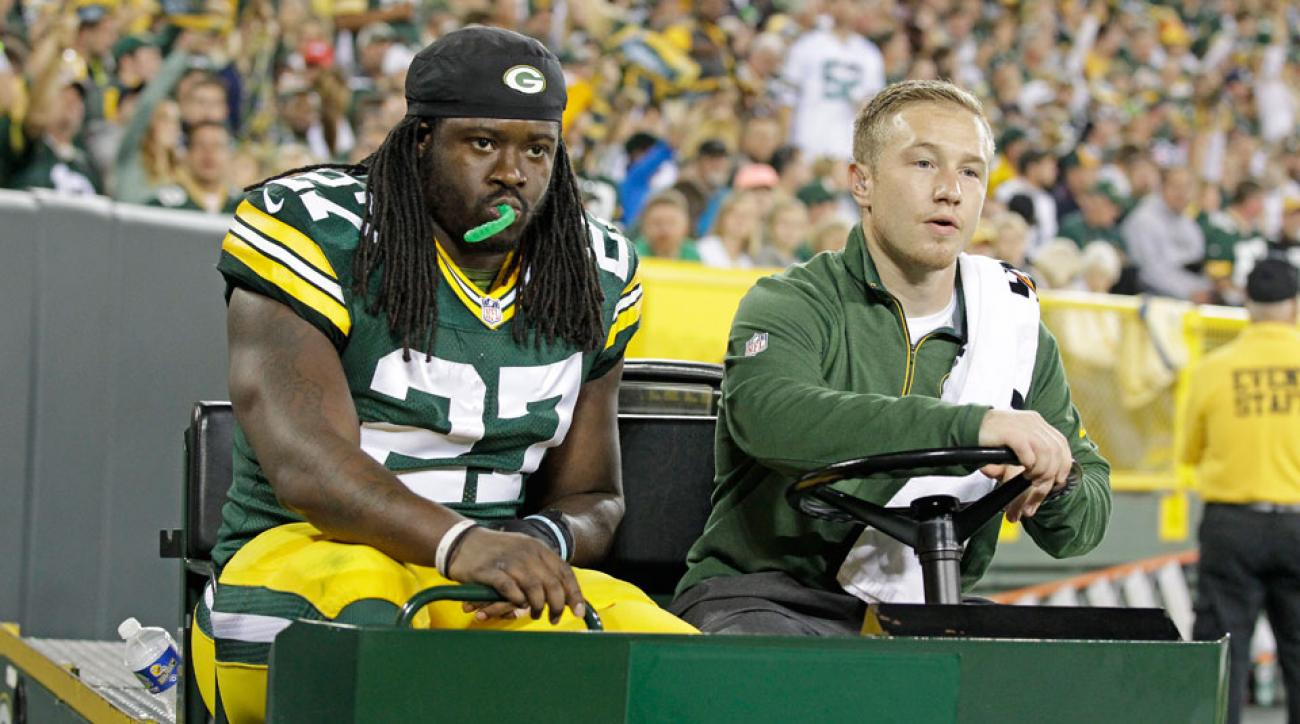 eddie lacy green bay packers ankle injury news