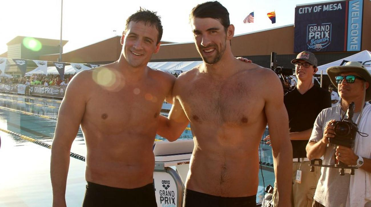 Ryan Locthe bet Michael Phelps he would return to swimming
