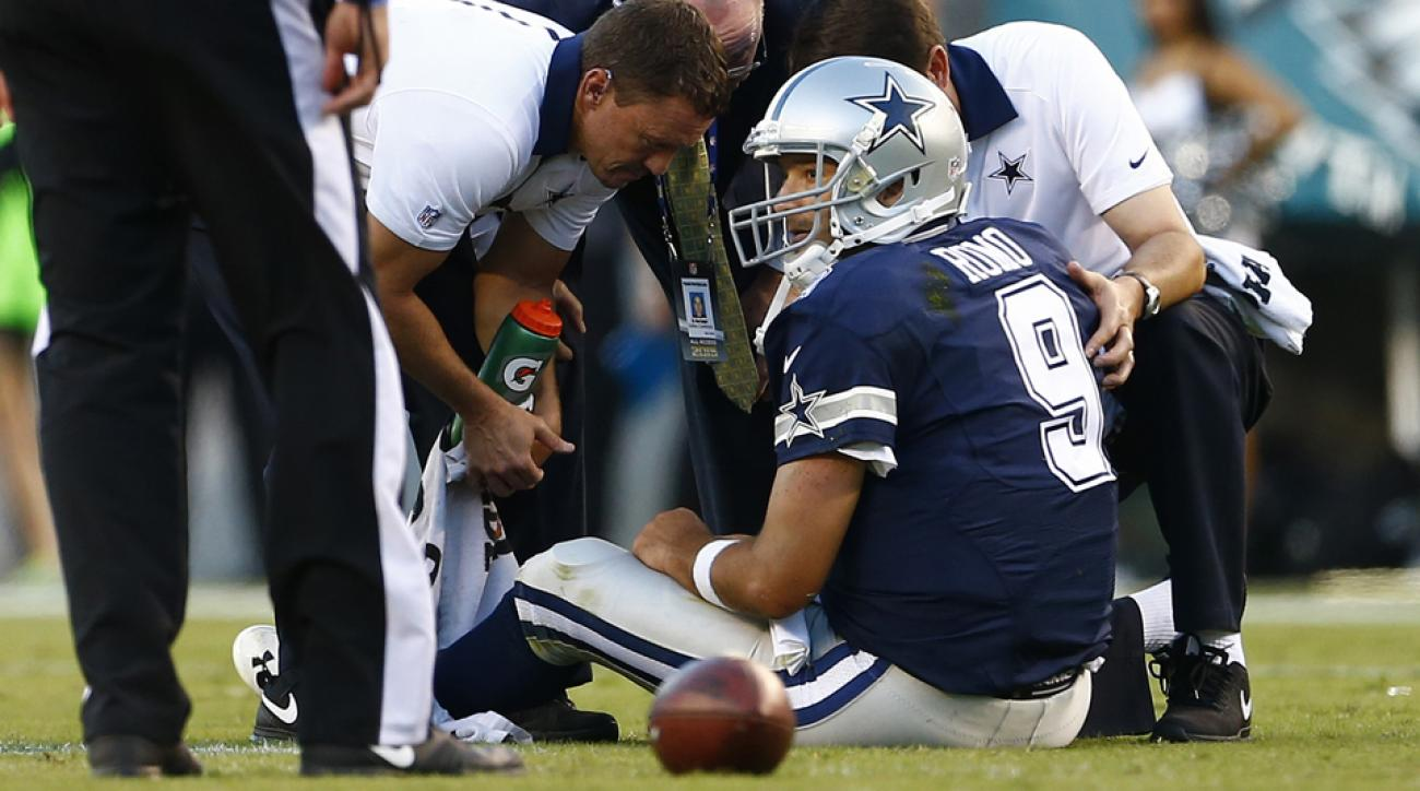 tony romo injury news nfl rumors