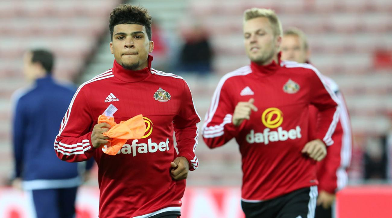 DeAndre Yedlin made his Sunderland debut vs. Manchester City