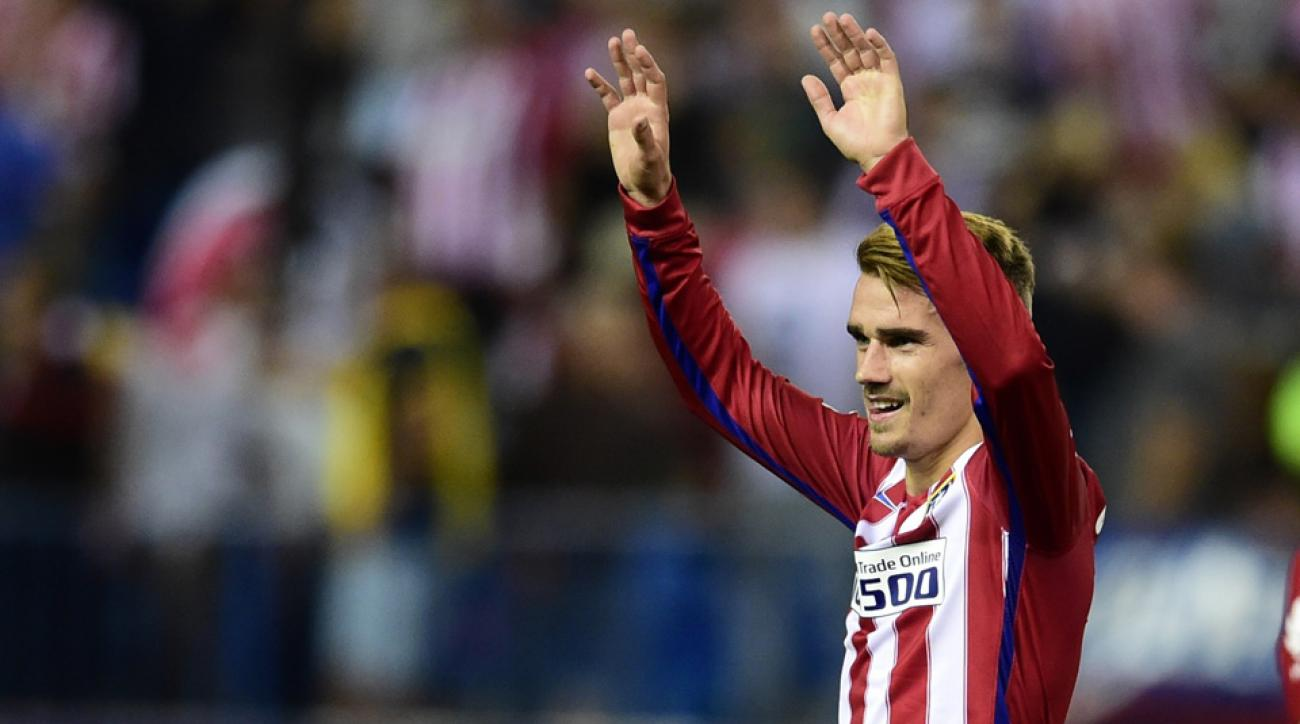 Antoine Griezmann scored two more goals for Atletico Madrid