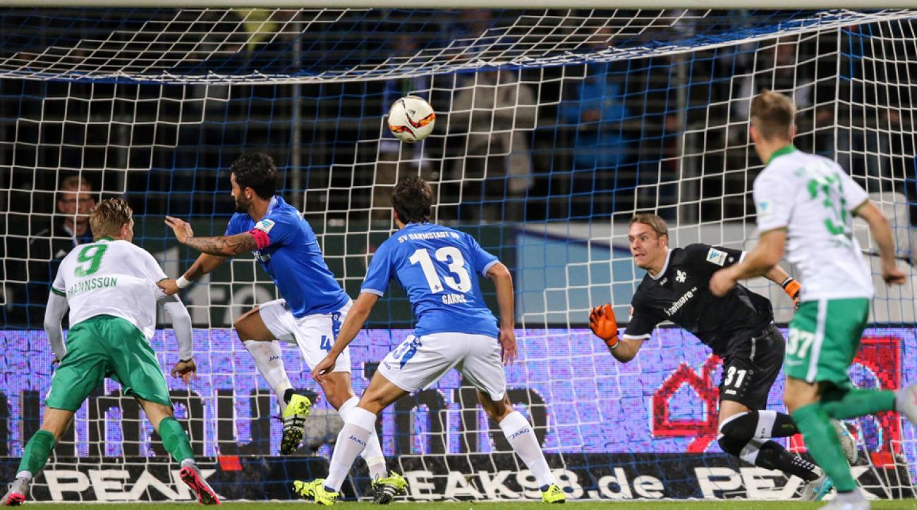 USMNT's Aron Johannsson scores for Werder Bremen