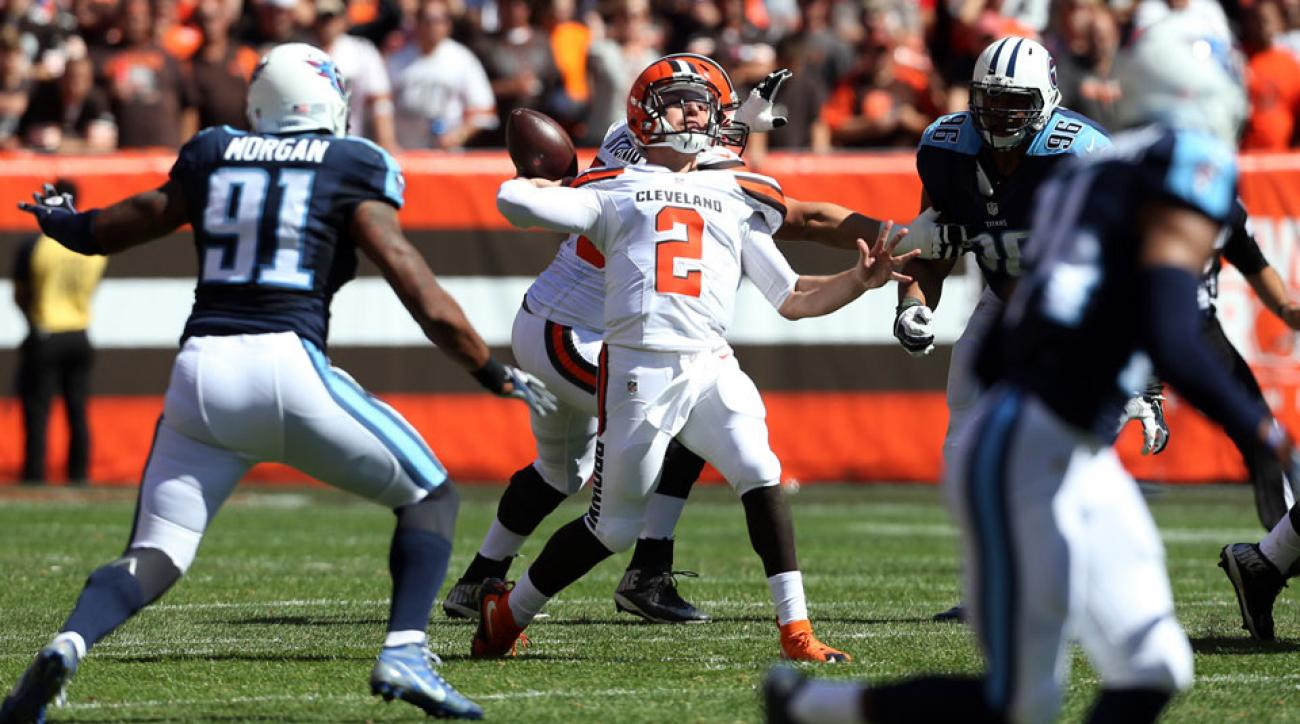 Why Johnny Manziel has earned shot at Browns' starting quarterback job