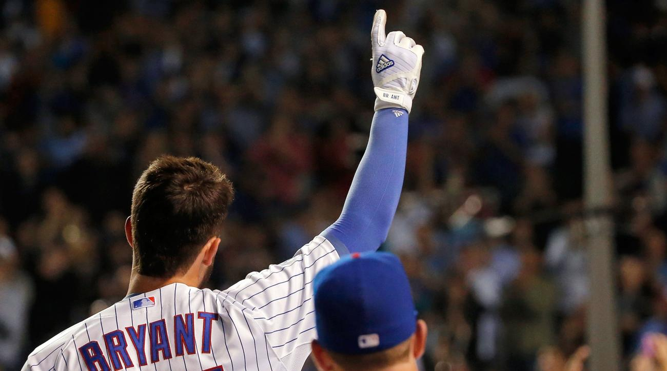 kris bryant cubs rookie home run record