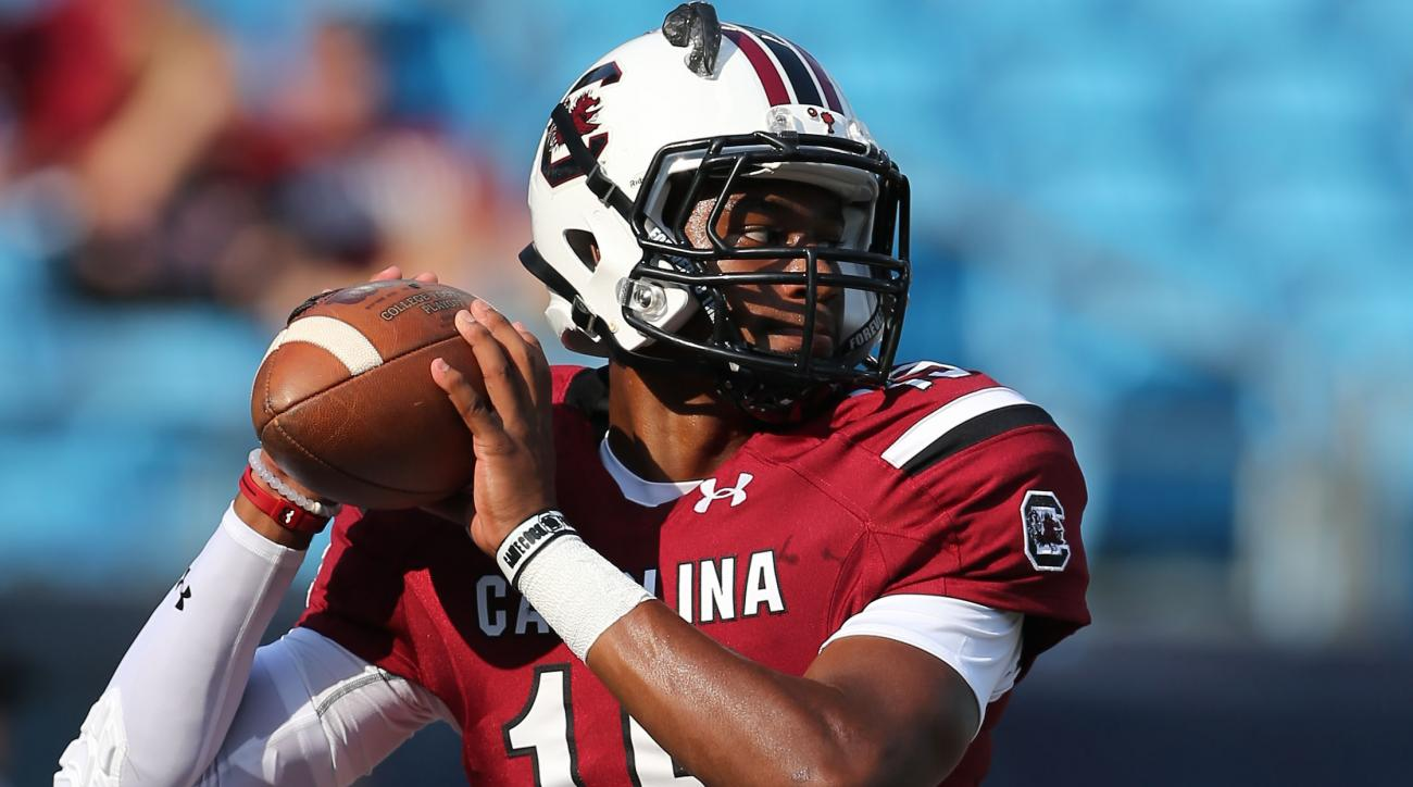 south-carolina-gamecocks-quarterback-lorenzo-nunez-start-against-ucf