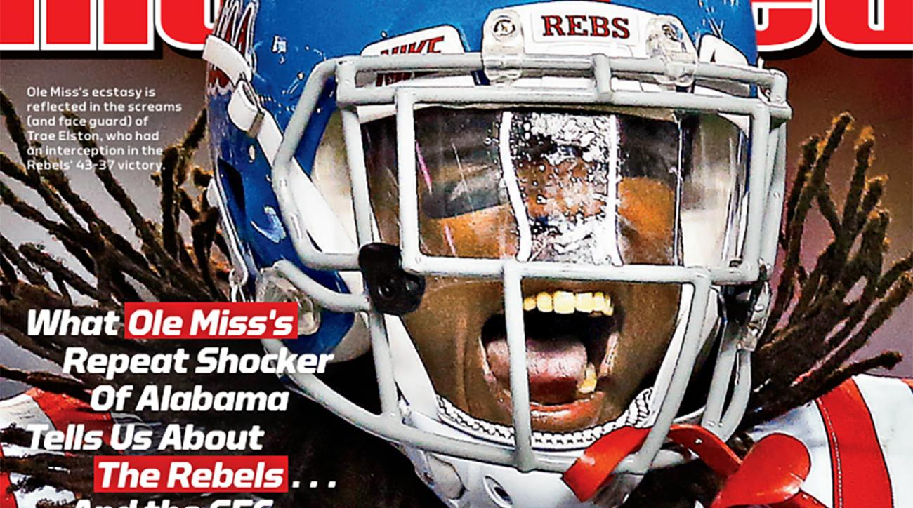 Ole Miss Rebels land Sports Illustrated's cover
