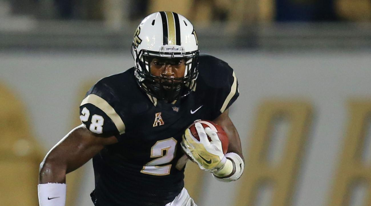 UCF releases RB William Stanback