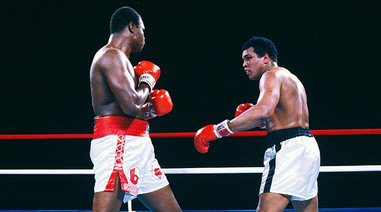 Muhammad Ali, Larry Holmes