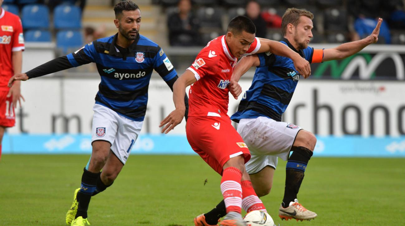 USMNT's Bobby Wood scores for Union Berlin