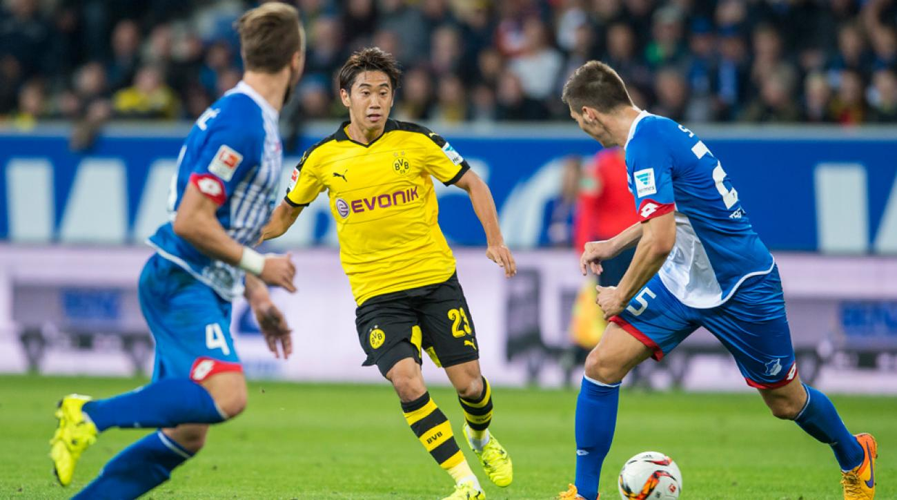 Dortmund, Hoffenheim play to 1-1 draw in Bundesliga