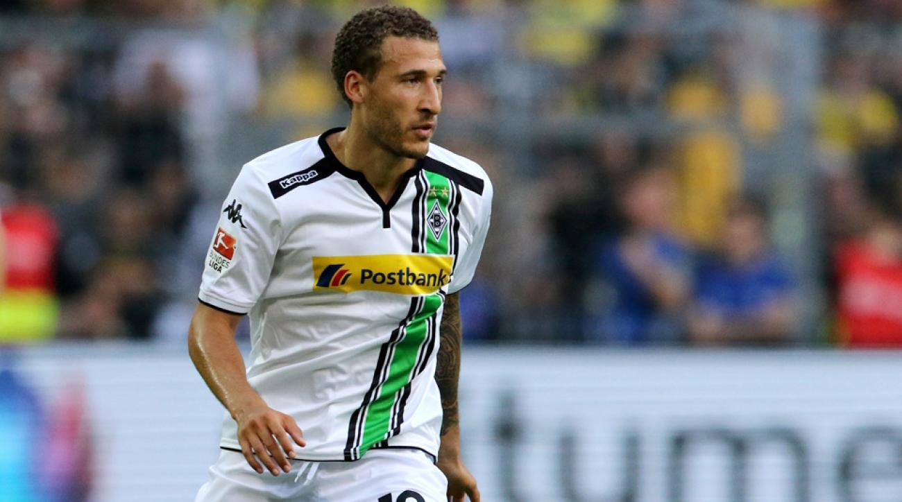 Fabian Johnson scores in his return from injury for Borussia Monchengladbach
