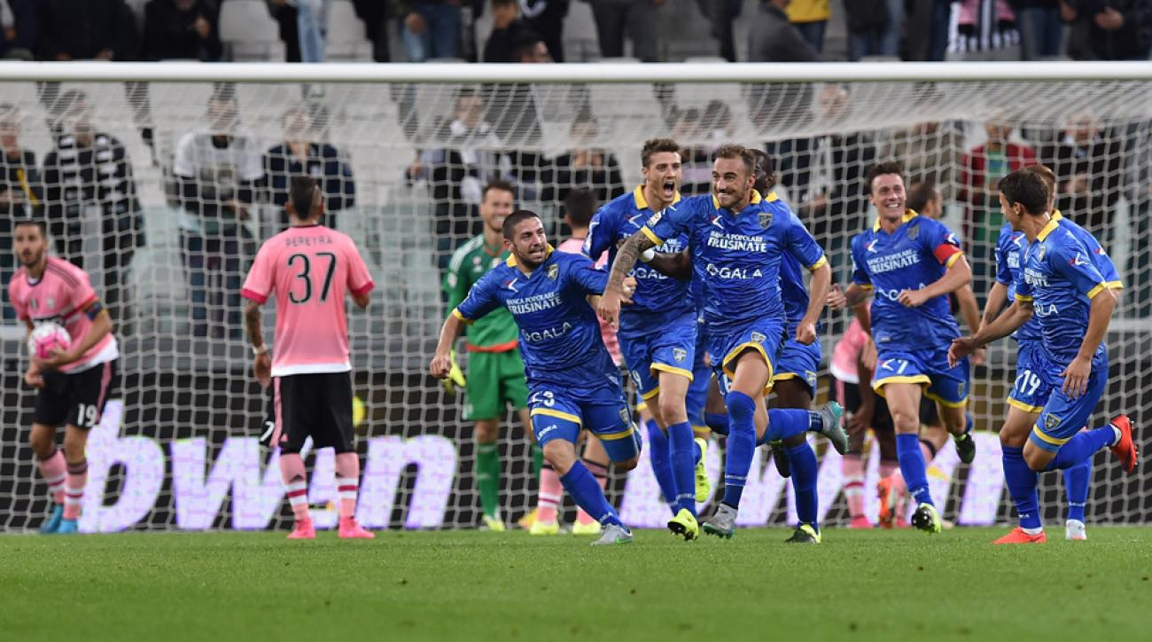 Frosinone stuns Juventus in Serie A