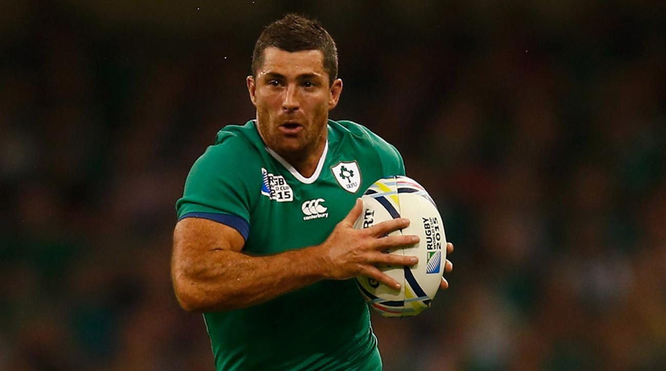 rugby world cup ireland rob kearney tackle video