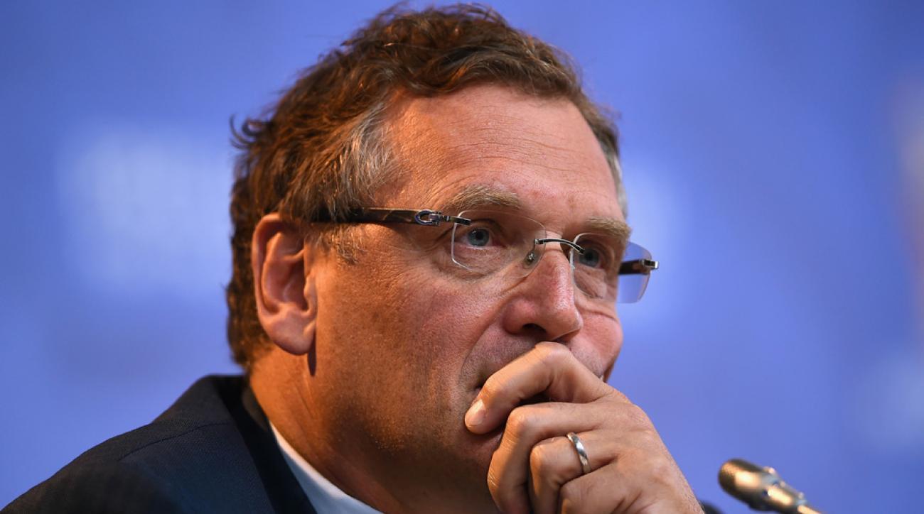 Jerome Valcke, suspended FIFA secretary general