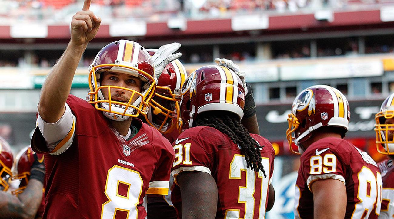 Kirk Cousins comfortable as Redskins' backup plan ahead of Giants game