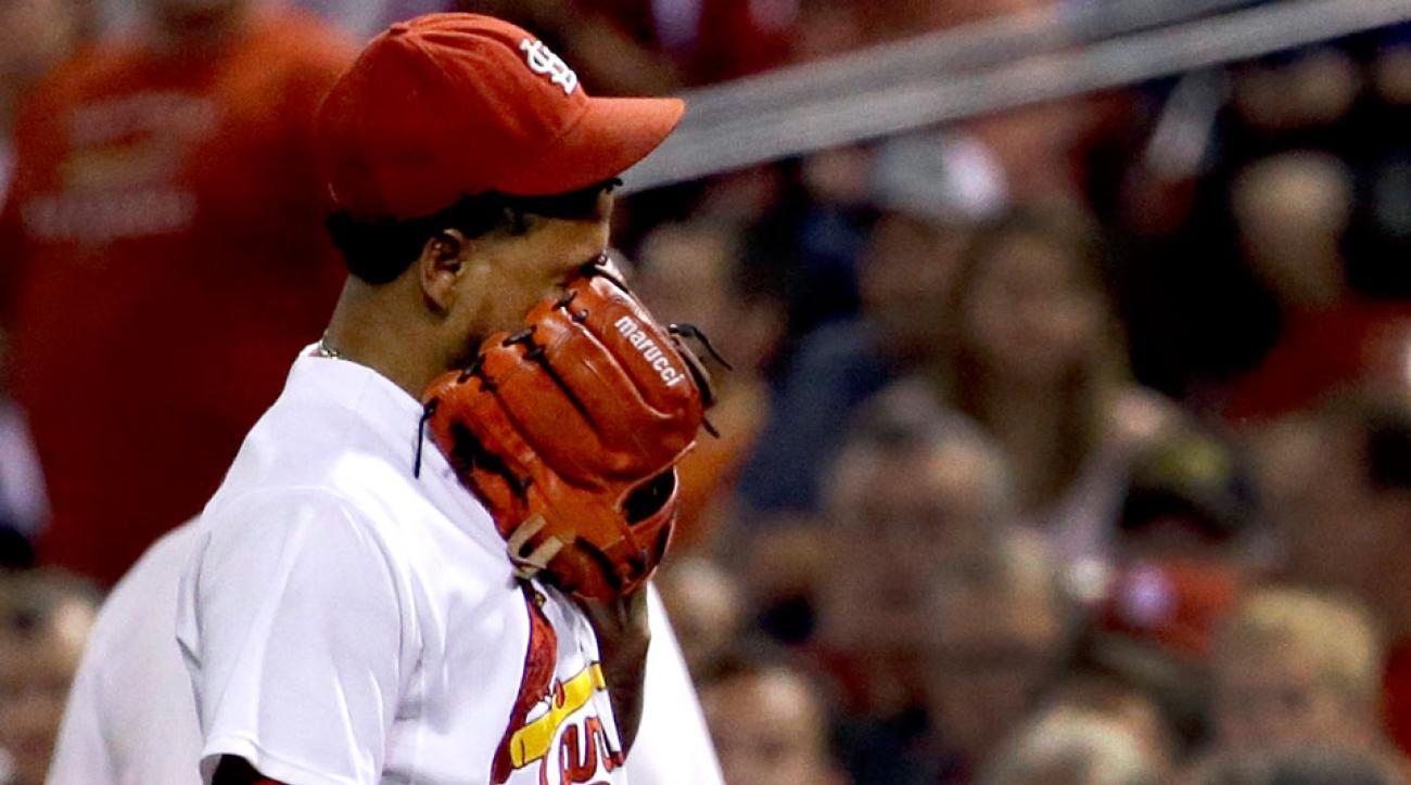 carlos martinez elbow injury st louis cardinals playoffs