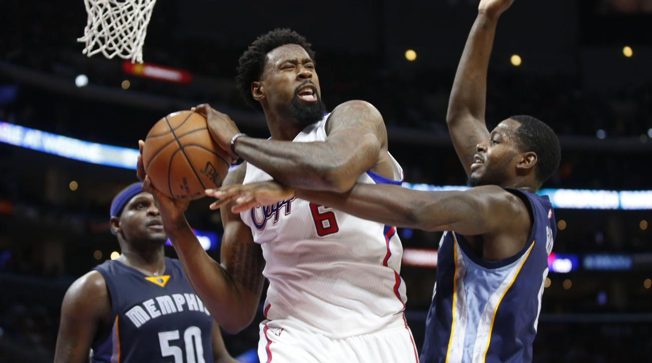 los-angeles-clippers-deandre-jordan-first-game-at-dallas