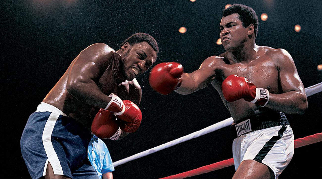 Joe Frazier and Muhammad Ali's epic battle