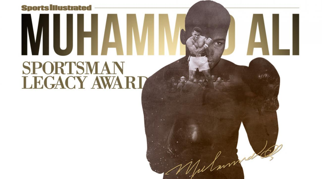 muhammad ali sports illustrated legacy award sportsman year