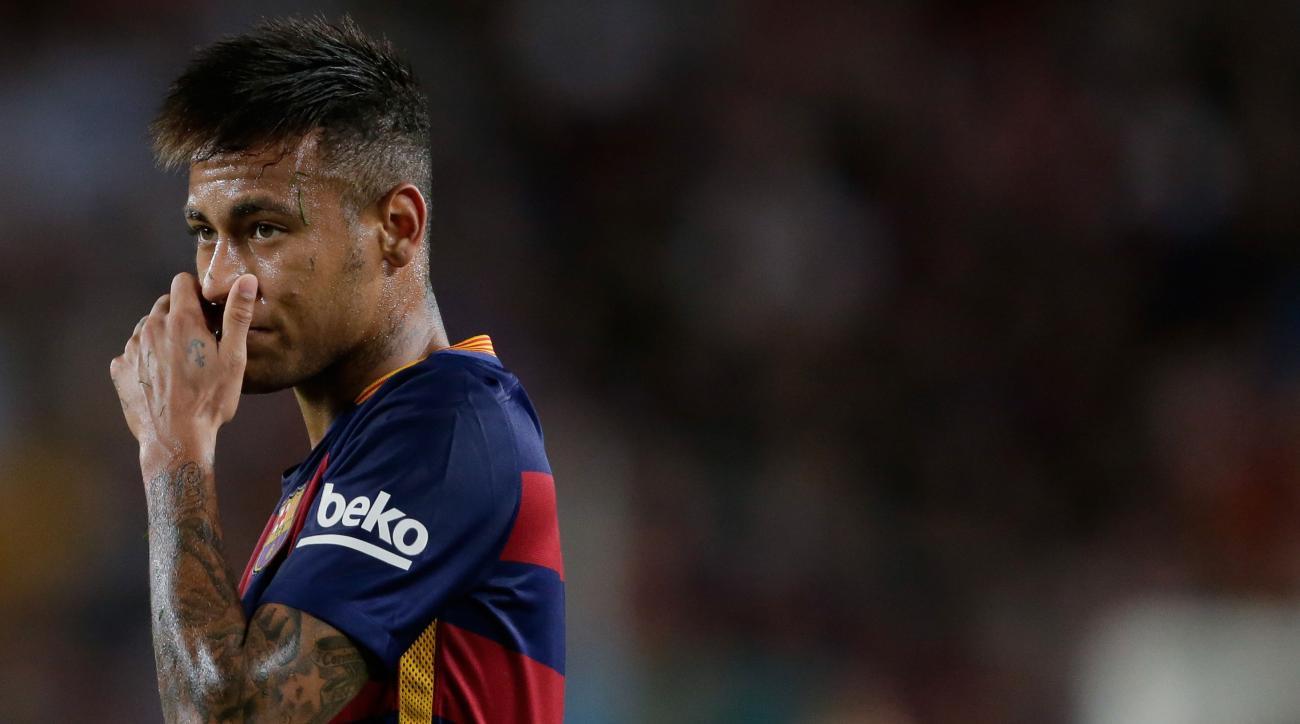 neymar brazil barcelona tax evasion assets probe